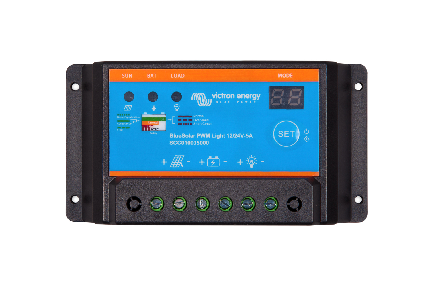 Victron Energy BlueSolarPWM-Light Charge Control