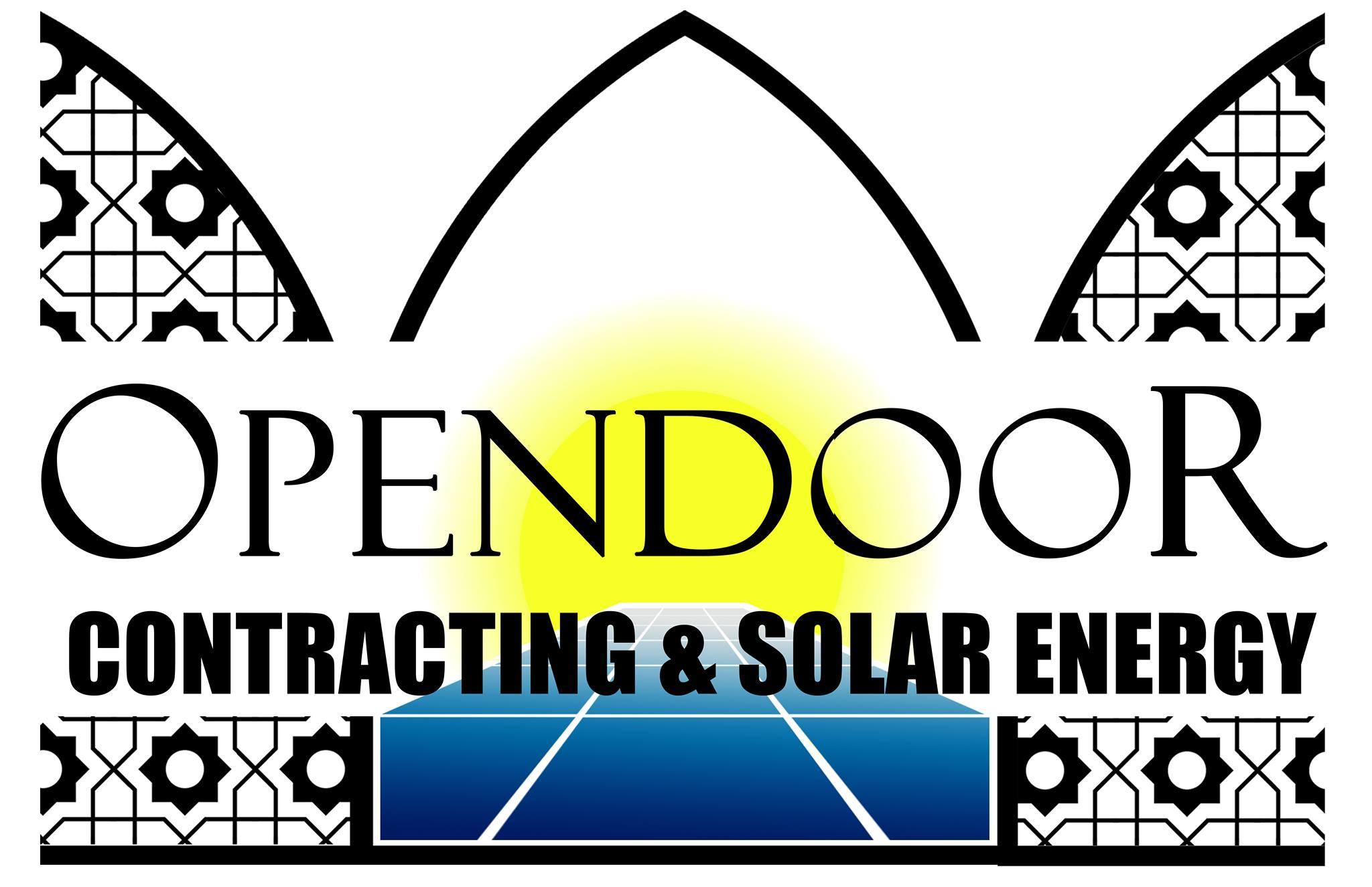 OPEN DOOR للطاقه الشمسيه