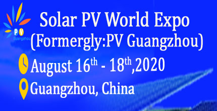 Solar PV World Expo 2020 (Formerly: PV Guangzhou )