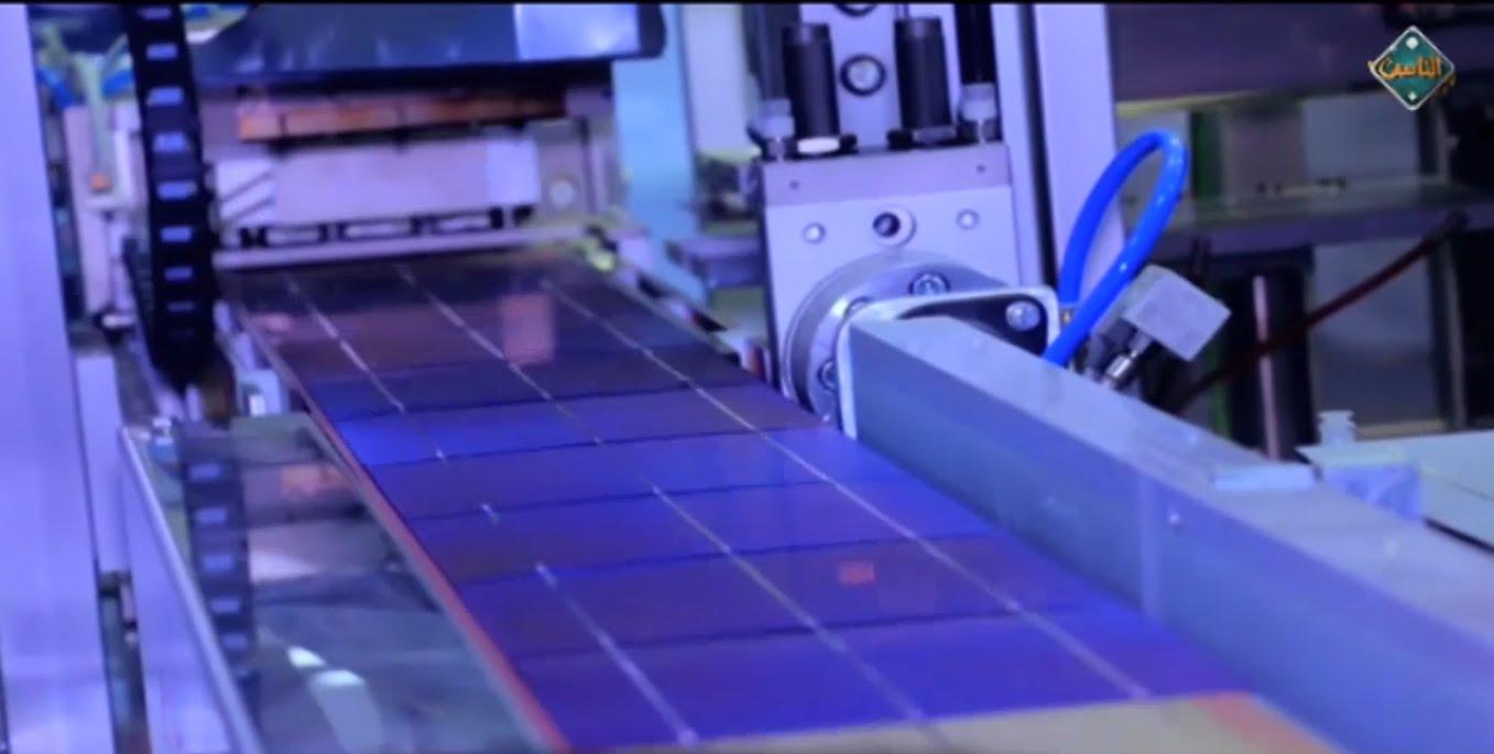 مصنع لانتاج الالواح الشمسية من الرمال بطاقة انتاجية 1 جيجا وات سنويا