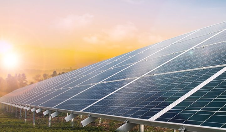 حقل انتاج الطاقة الشمسية بجنوب سيناء بقدرة 50 ميجا وات
