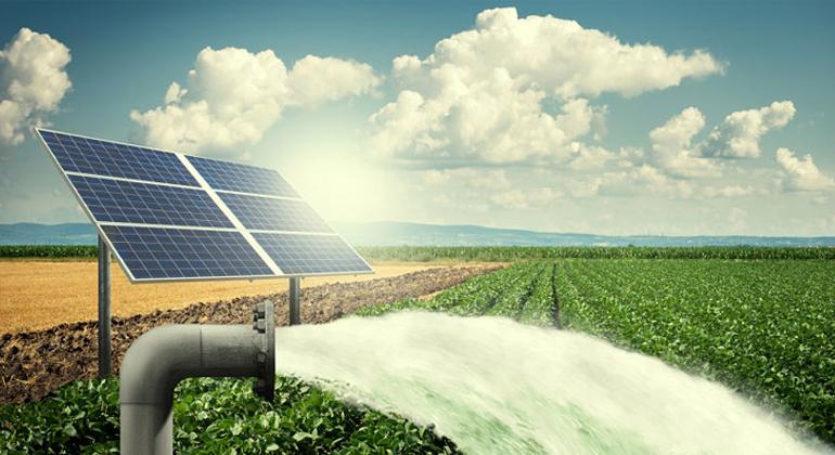 توريد وتنفيذ 2 محطة ضخ بالطاقة الشمسية