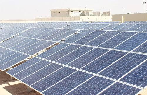 توريد وتركيب محطة طاقة شمسية  متصلة بالشبكة الحكومية