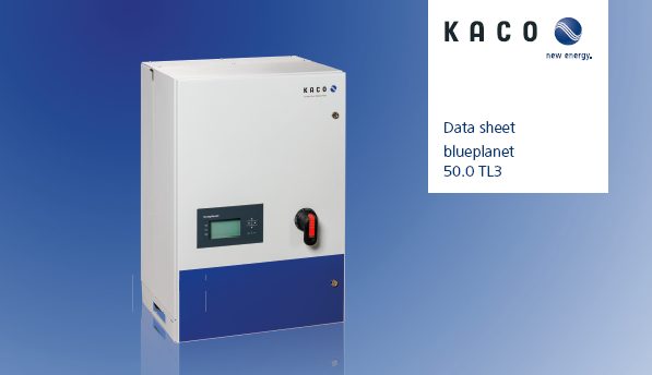 Kaco New Energy Kaco Blueplanet 50 KW