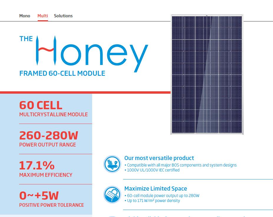 Trina Solar Honey