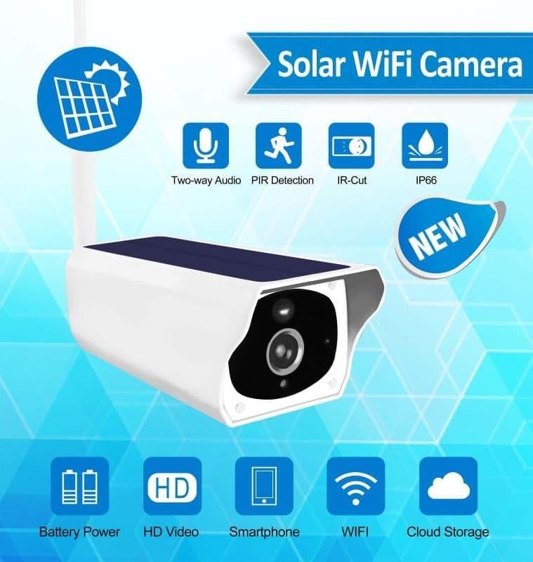 Solar Ip Cam Tp-10