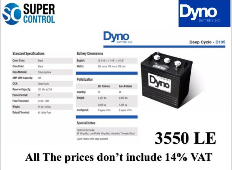Dyno D105