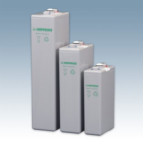 Hoppecke - valve regulated batteries HOPPECKE Sun power VRL