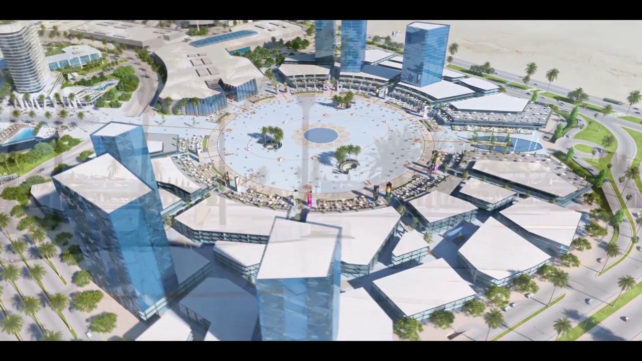 """مدينة الشمس في مصر,تنفيذ ساحة """"الشمس"""" علي مساحة 11فدانا"""