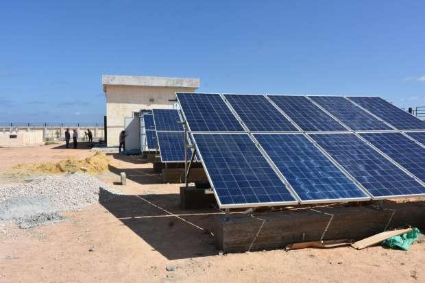 تجربة رائدة لتحلية مياه الآبار الجوفية بمطروح بالطاقة الشمسية