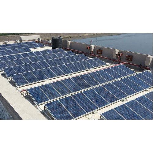 توريد وتركيب محطة توليد كهرباء تعمل بالطاقة الشمسية قدرة  ٥٠ كيلو وات