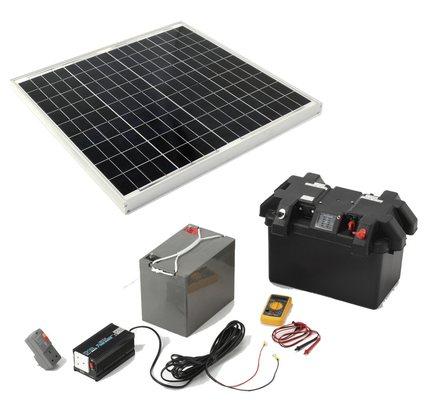 توريد مهمات لأنظمة الطاقة الشمسية