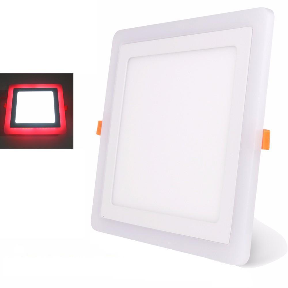 Everstar Two Color Panel Light Square 18w
